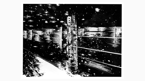 Cities of Night. Haley Eber. Design IV, Spring 2000