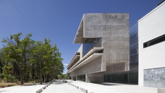 Héctor Fernández Elorza:'Genetics Laboratory and Office Building'
