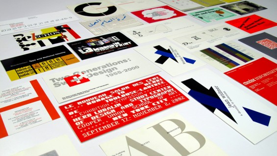 Various Lubalin Center exhibition and lecture invitations