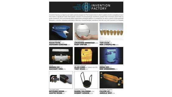 [STUDENT POSTER] INVENTION FACTORY