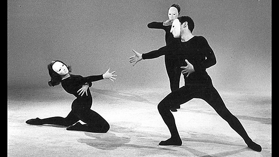 Members of the American Mime Theater. Image courtesy the American Mime Theater