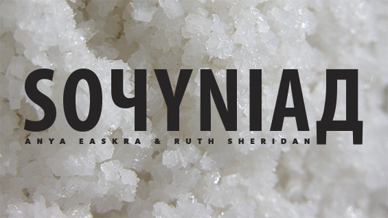 Exhibition image for SOчYNIAД, a Presentation by School of Art students Anya Easkra and Ruth Sheridan