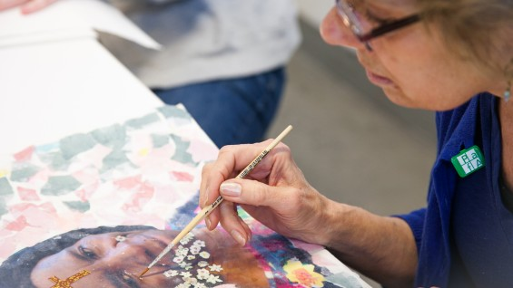 Collage to Painting Classes in New York