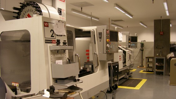 Haas CNC Mill and Lathe