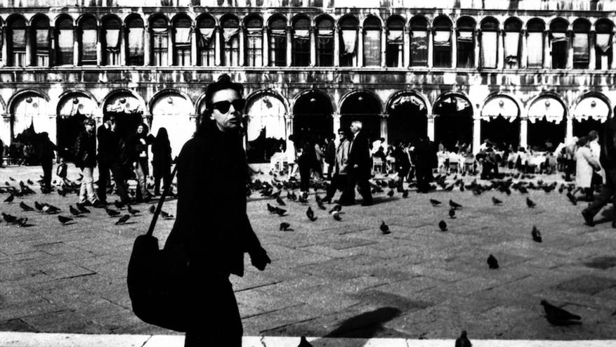 Diane Lewis in Piazza San Marco, Venice. Photo by Anita Seiff.