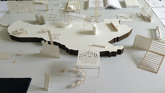 Models constructed by Arta Perezic for her thesis proposal