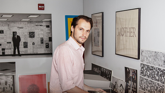 Alexander Tochilovsky, director of the Lubalin Center and curator of 'Thirty'