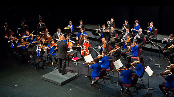 The Orchestra Now in performance under the direction of Leon Botstein. Photo by Jito Lee