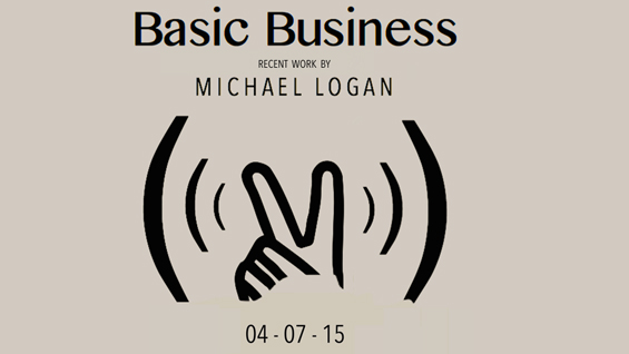 Exhibition image for Basic Business a Senior Presentation by School of Art student Michael C. Logan