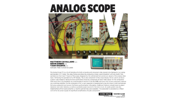 [STUDENT POSTER] ANALOG SCOPE TV