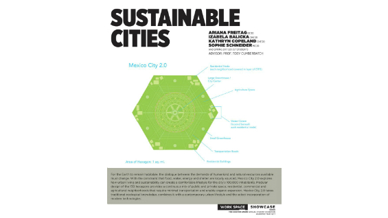 [STUDENT POSTER] SUSTAINABLE CITIES