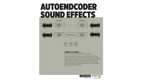 [STUDENT POSTER] AUTOENDCODER SOUND EFFECTS