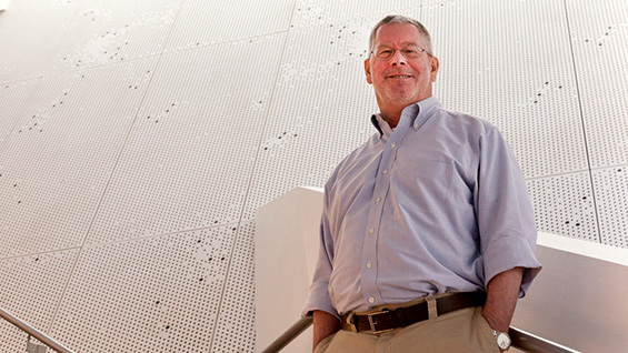 Richard Stock. Photo by Marget Long/The Cooper Union