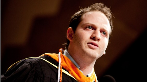 Benjamin Strauss, Student Commencement Speech, May 22, 2012