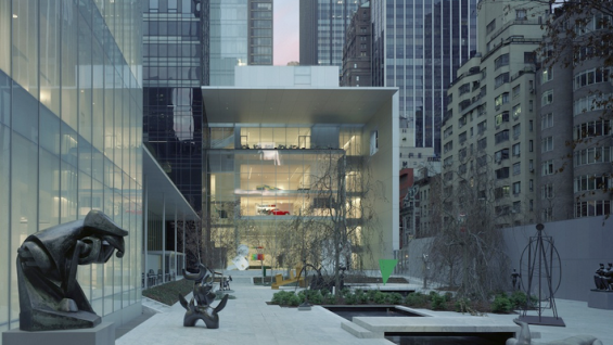 The Museum of Modern Art Expansion, New York NY (Taniguchi and Associates with Severud Associates) | photo: Timothy Hursley