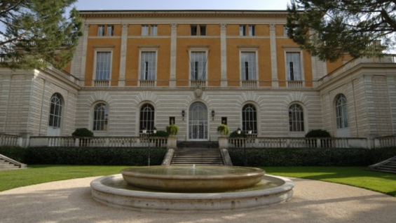 American Academy in Rome, Entrance of the McKim, Mead & White Building