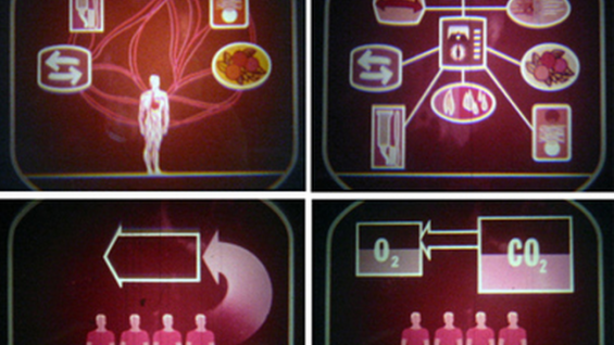 Snapshots from NASA's promotional motion picture for television The Case for Regeneration (1960)