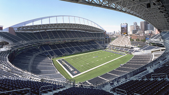 CenturyLink Field in Seattle, WA; Ellerbe Becket in association with Loschky Marquardt & Nesholm Architects