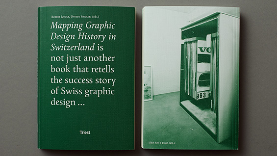'Mapping Graphic Design History in Switzerland' book jacket