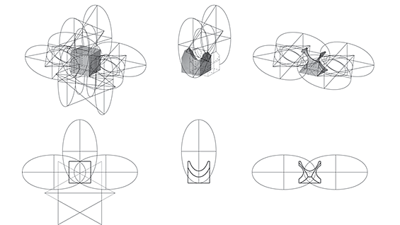 A detail from William Cooper Mack's Thesis: 'Of Anisotropic Matrices'