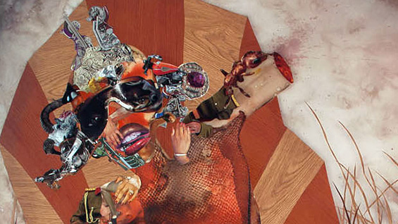 'Root of All Eves' (detail, from 2015 PEN festival program cover). Wangechi Mutu A'97