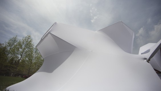 White Out, Indianapolis Art Museum, Open Source Architecture (photo credit-Chandler Ahrens)