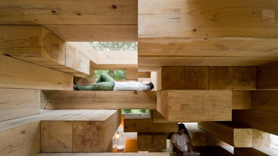 Final Wooden House, Kumamoto | photo: Iwan Baan