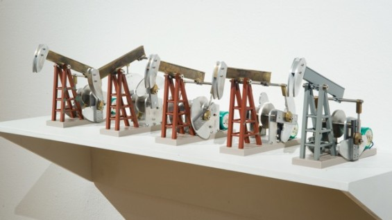 Installation view, Richard Knox: In the Details, 2013