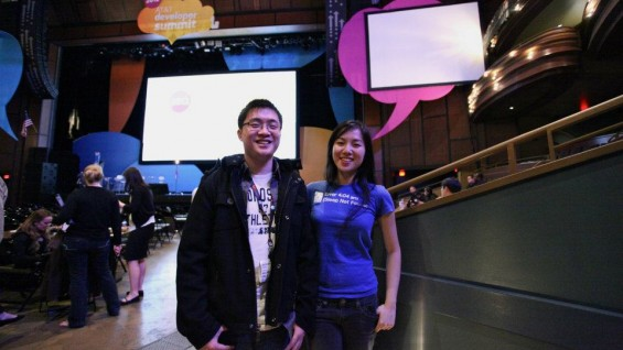 Sleepbot's Edison Wang (EE'2012) and Jan Zhu