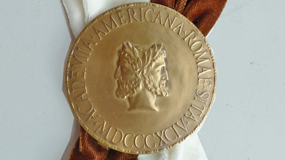 Baldric of the American Academy in Rome. Image courtesy the American Academy in Rome<br><br>