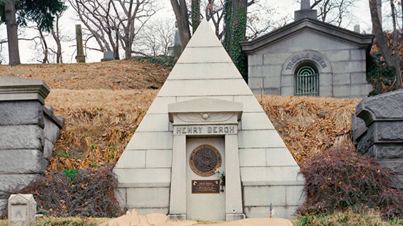 The Henry Bergh crypt at Green-Wood Cemetery