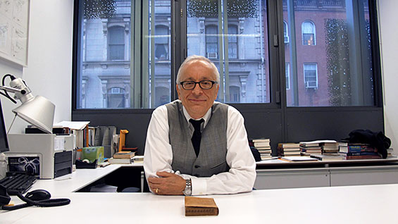 Dean Germano at his desk