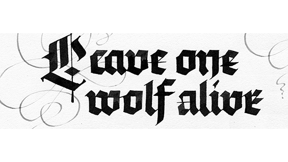 Calligraphy: Blackletter Fundamentals with Lynne Yun