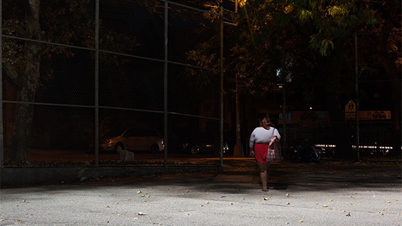 An image from the series 'Some Girl, Some Where' by Fortunato Castro