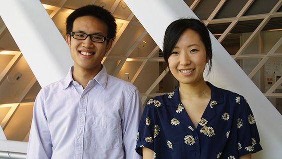 Victor Chen and Kyung Min Lee (EE'13)