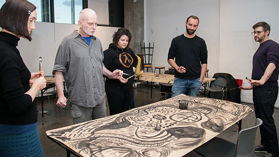 Learn Experimental Drawing at The Cooper Union