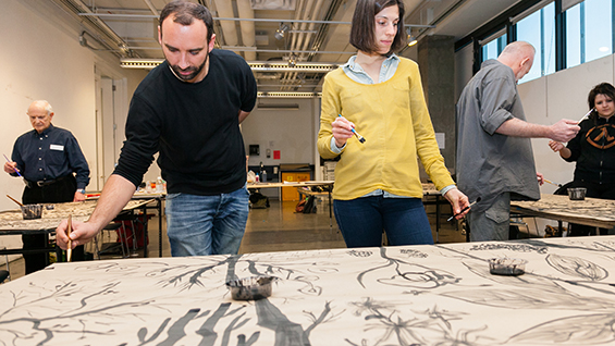 Experimental Drawing Workshop in New York