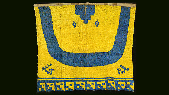 Tabard with Blue Yoke, 13th - 16th cent.