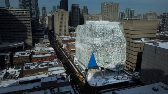 Snøhetta, Ryerson University Student Learning Centre, Toronto, Canada | Photo courtesy Ryerson University