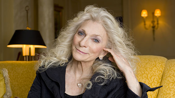 Judy Collins.  Photo by James Vesey