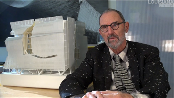 Thom Mayne in the Louisiana Channel video about 41 Cooper Square