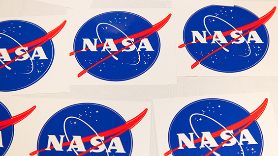 Free NASA stickers