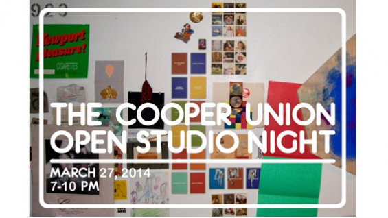 The Cooper Union Open Studio Night