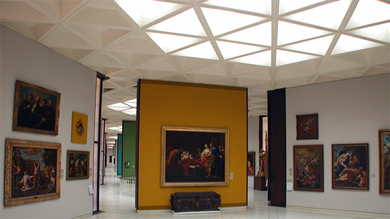 Ponce Museum of Art, Ponce, Puerto Rico. Skylight redesign completed 2006.  Images courtesy of Tanteri + Associates © 2015