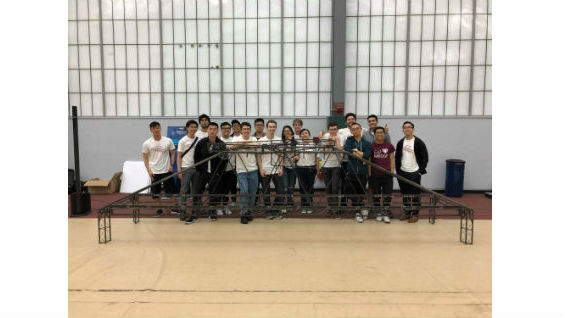 Steel Bridge Team at Regionals 2018