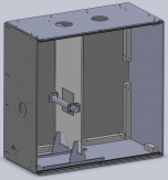 Electrospinning Device CAD model